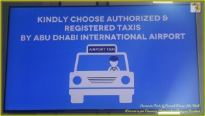 Use registered taxis for safety and comfort