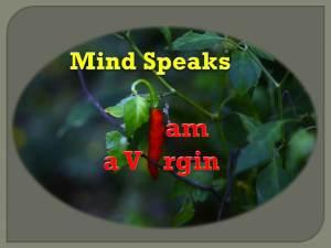 I am a Virgin