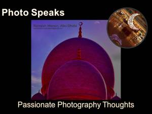 Photo Speaks - Passionate Photography Thoughts