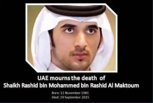 UAE Mourn the death Shaikh Rashid bin Mohammed bin Rashid Al Maktoum