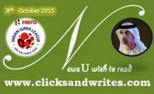 News U Wish to read  - 3 October 2015