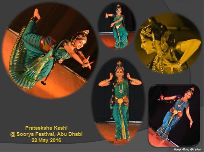 Prateeksha Kashi at Soorya Festival Abu Dhabi