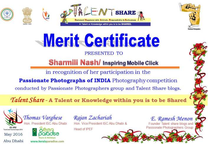 Certificate for participants Passionate Photographs of India 2016 for printing - Sharmili Nash.jpg