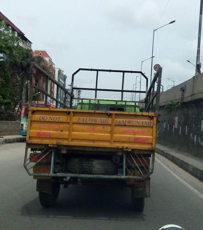 funny truck slogan 1