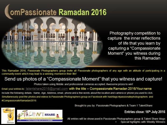 Ramadan 2016 through your eyes