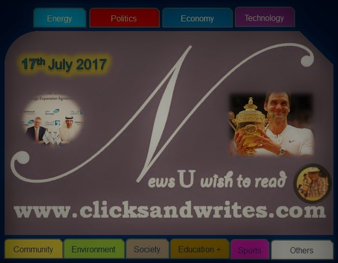 News U Wish to read - 17 July 2017